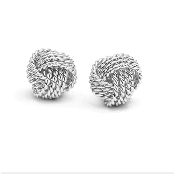 Tiffany Twist knot earrings in sterling silver Tiffany & Co. 9YczmpBnb