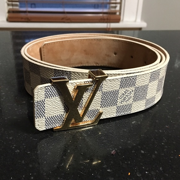 79199c3a9ae Louis Vuitton Accessories - ‼️ON HOLD‼ Authentic Damier Louis Vuitton belt