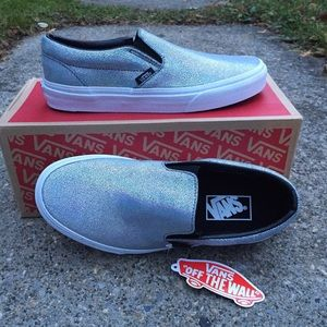 89bf0a36cb Vans Shoes - Vans Off The Wall Matte Iridescent Classic Slip-On
