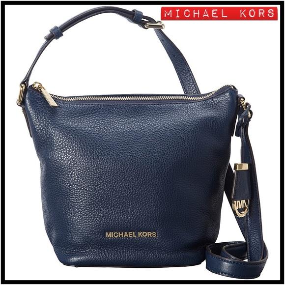 733d3df4b4e1 MICHAEL Michael Kors Bags | Michael Kors Bedford Leather Messenger ...