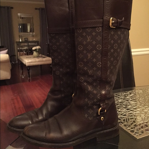 Louis Vuitton Riding Boots