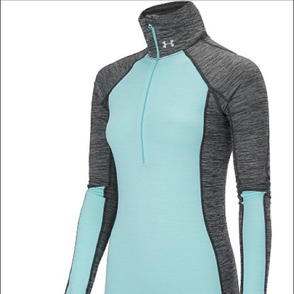 63628640f1 NWT Under Armour Cold Gear Half Zip Top ⛄️❄️🎄 NWT