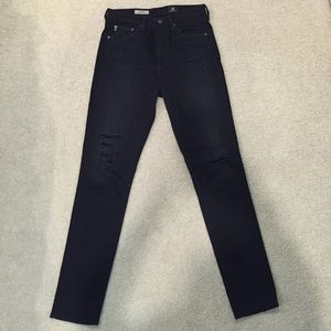 AG Adriano Goldschmied Denim - AG Adriano Goldschmied high wasted skinny jeans