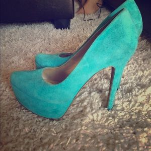 Tiffany Blue | Suede pumps | Jessica Simpson | 7.5