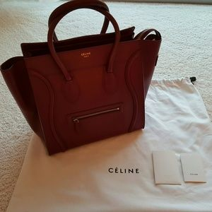 27% off Celine Handbags - *BRAND NEW* Celine Neon Orange mini ...
