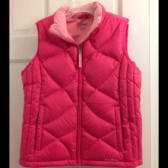 L L Bean Jackets Amp Coats Llbean Puffer Vest Goose Down