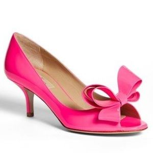  Valentino Couture Bow Pump OMG!