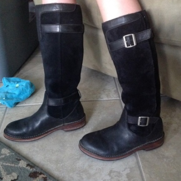 UGG Shoes | Ugg Black Riding Boots