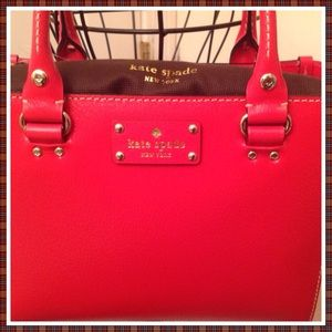 HP Kate Spade Wellesley Sm Quinn Lacquer Red NWT