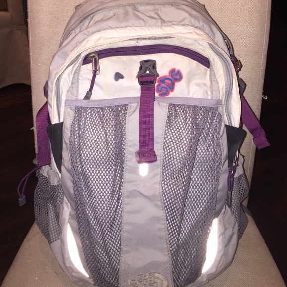 c807ac6c8 The North Face Recon Backpack Gray and Purple