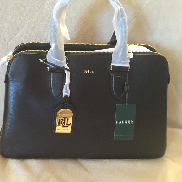 5021085945d8 Final sale!!!!Ralph Lauren Newbury dome satchel