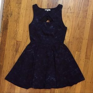 BB Dakota navy dress