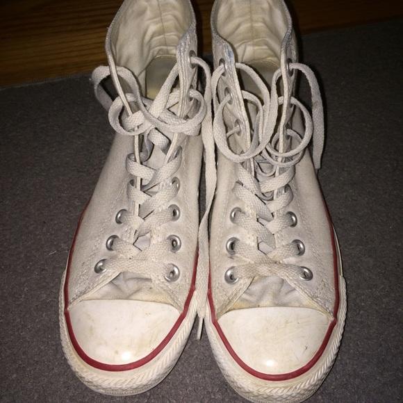 457fc2ba2 Converse Shoes | Slightly Worn White 85 | Poshmark