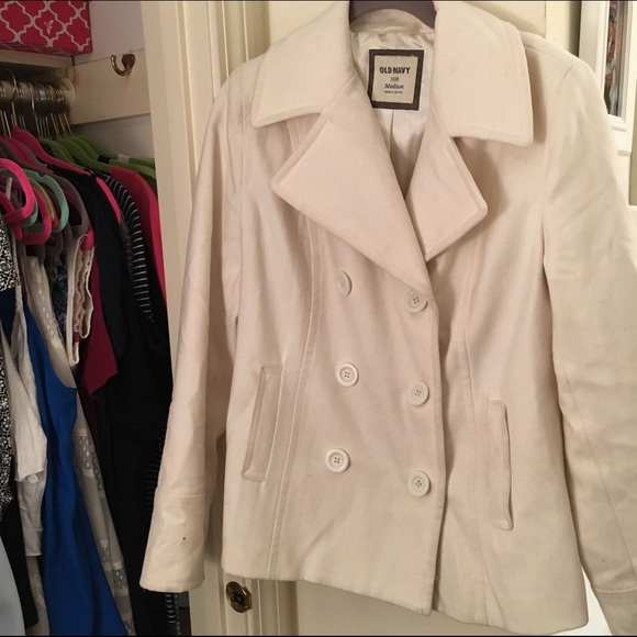 96% off Old Navy Jackets & Blazers - Old Navy Classic Peacoat ...