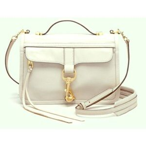 Rebecca Minkoff Bowery cross body bag in white