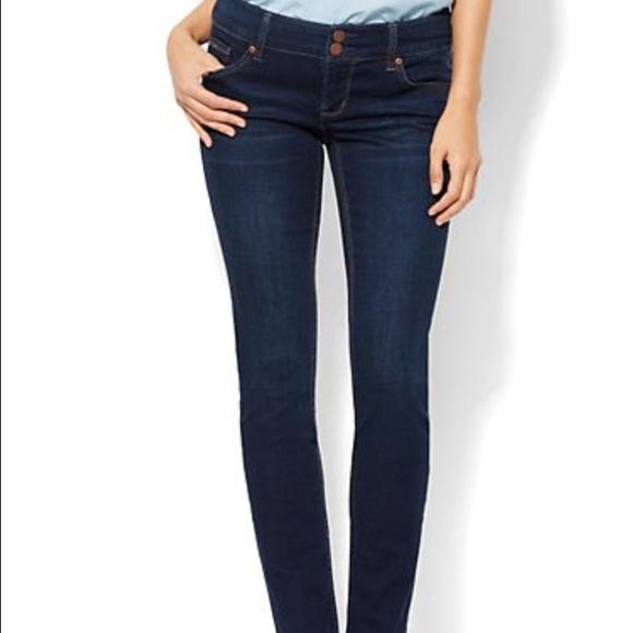 New York & Company - NY&co stretch curvy skinny jeans size 2 from ...