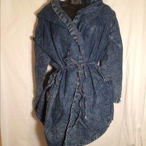 Stone wash jacket