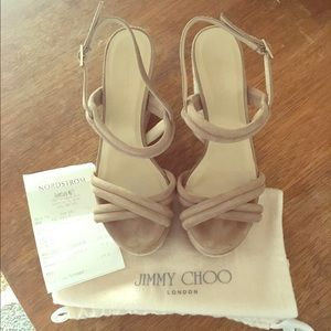 Jimmy Choo Nomad Wedge Sandal