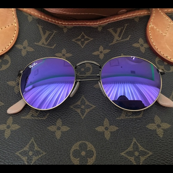 9689daa238b Ray Ban Round Mirror sunglasses. Only 5 times used.  M 5659c14668027834a201e029