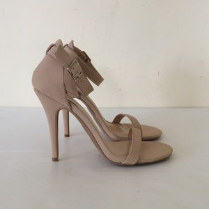 Charlotte Russe ankle strap sandals 8