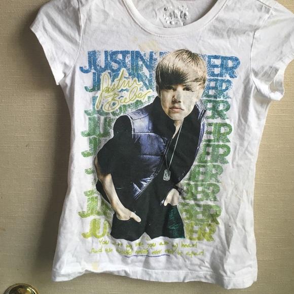 Justice Justin Bieber T-shirt