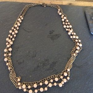 J.Crew chain statement necklace