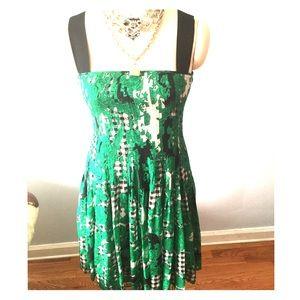 Diane Von Furstenberg DVF Green Karlyn Dress NWT