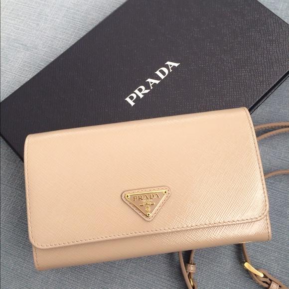 Prada Wallet Beige
