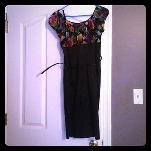 AGB Dresses & Skirts - Sexy slimming black pencil dress