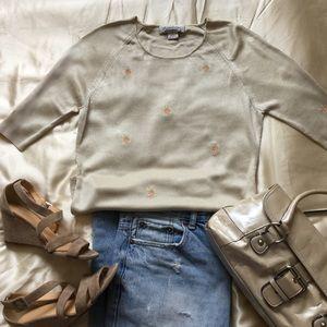 Brooks Brothers silk sweater