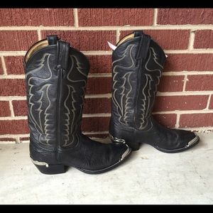 Tony Lama Other - Tony Lama Men's size 9, women's 10.5 cowboy boots