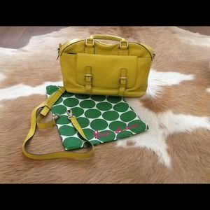 76 off boden handbags boden leather bag from giovanna 39 s for Boden yellow bag
