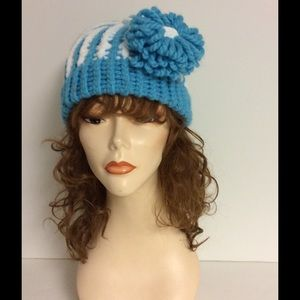 Me Accessories - Handmade  Hat With a detachable flower ***NEW***