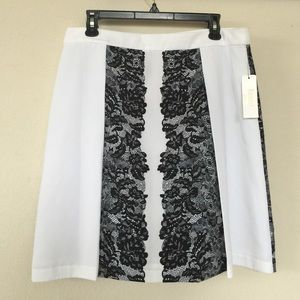 Laundry by Shelli Segal Lace Print Skirt, 6