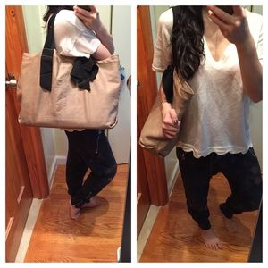 Lanvin Handbags - Auth lanvin lambskin cabas Neverfull Tote bag