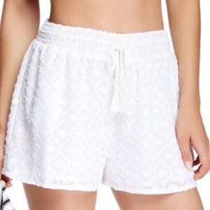 House of Harlow Olvera Clipped Jacquard Shorts XS