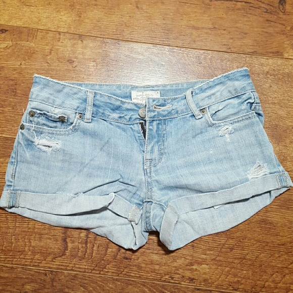 60% off Aeropostale Pants - Aeropostal Light Wash Jean Shorts from ...
