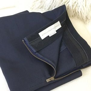 Stella McCartney Luxurious navy skirt