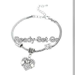 Mimi bangle bracelet rhinestones