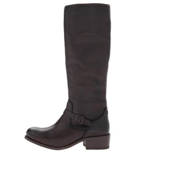 7298880fadcd Frye Shoes - FRYE Lynn Strap Tall Riding Boots