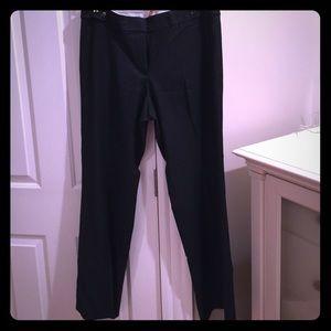 79 Off Loft Pants Black Loft Curvy Fit Pant From Jamie