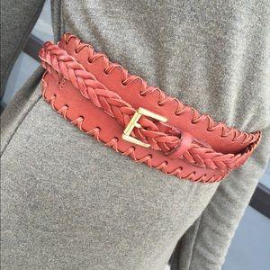 Linea Pelle Accessories - 🎉HP🎉Linea Pelle Collection Leather Wrap Belt