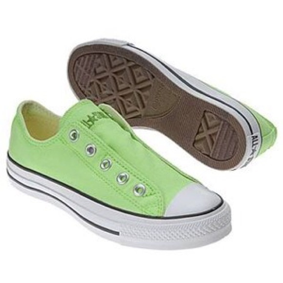 Converse Shoes   Brand New Lime Green