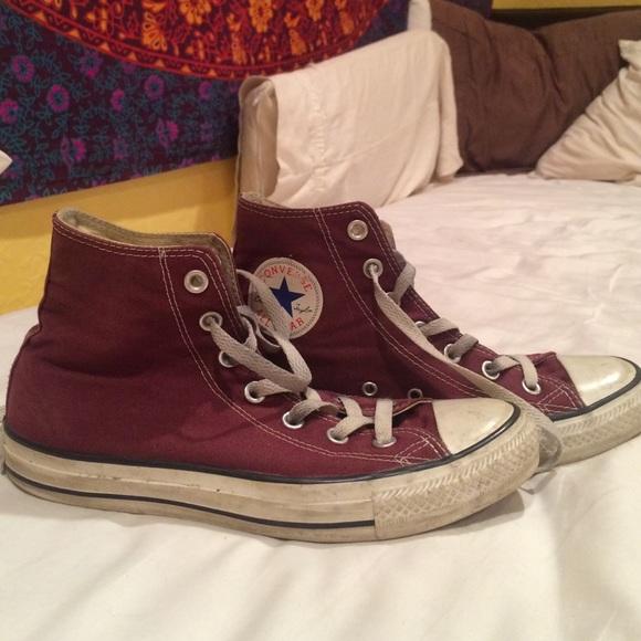 a00bf336bc07 Converse Shoes - Maroon converse