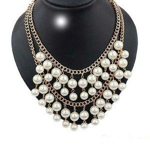 Rima Imar Jewelry - Pearls Galore Statement Necklace