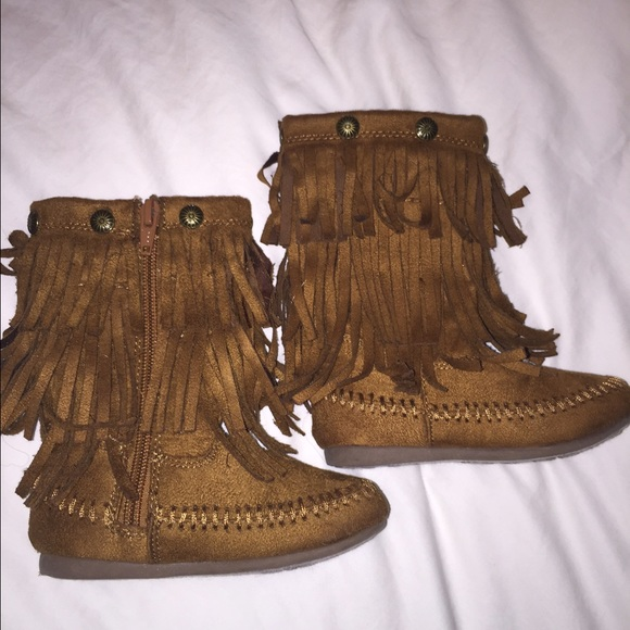 77% off Sonoma Other - Toddler fringe boots. from Adrianne's ...