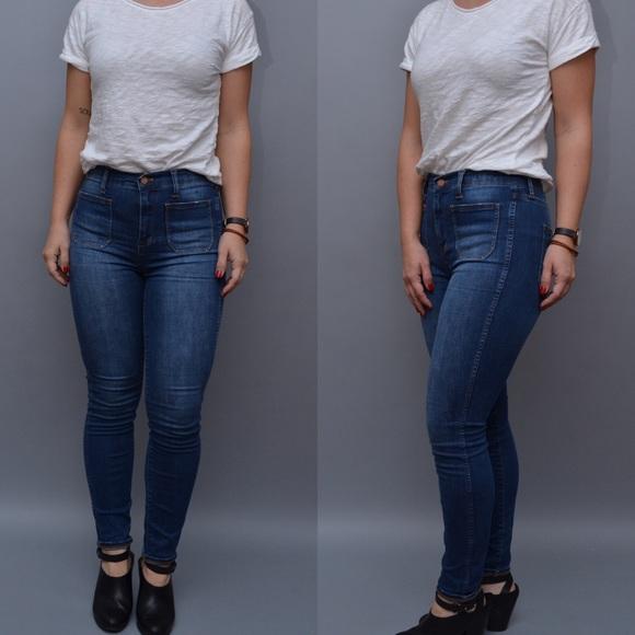 f34cf3d6f10 Madewell Denim - MADEWELL High Rise Skinny Skinny Jeans Sz 26 F 15
