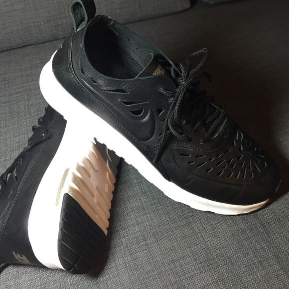 le scarpe nike air max thea menta pelle nera tagliata 95 poshmark