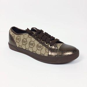 Michael Kors City Metallic Sneaker 8.5 NIB $99