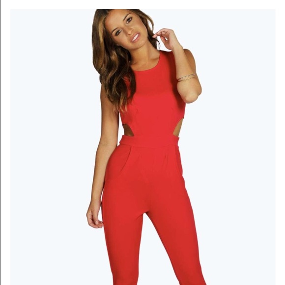 50% off Boohoo Pants - Boohoo petite jumpsuit size 2 NEW from ...